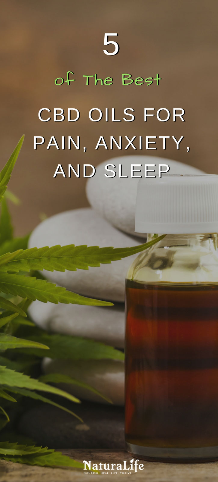 5 of the absolute best CBD oils for pain, anxiety, and insomnia