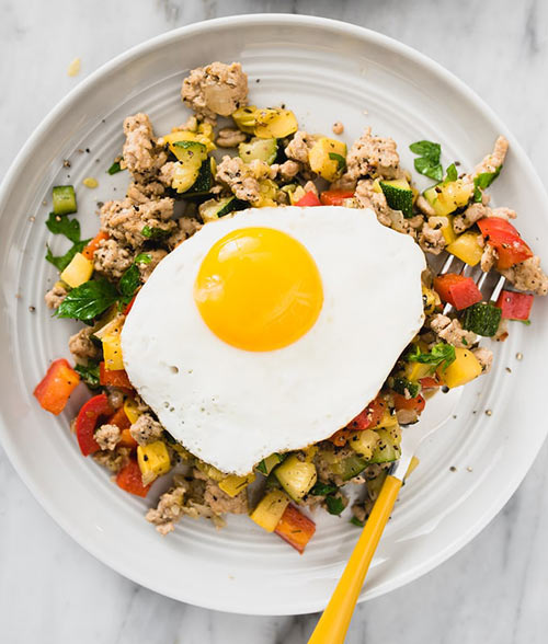 paleo turkey breakfast hash